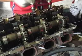 宝马535发动机总成维修