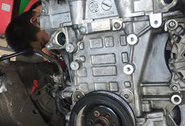 宝马525动力总成维修现